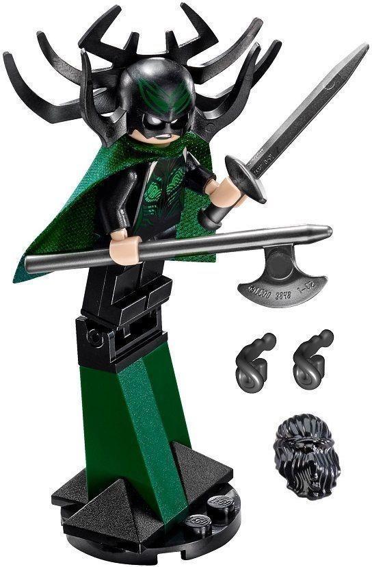 NEW! LEGO HELA MINIFIGURE – MARVEL SUPER HEROES ASGARD BATTLE SET (76084)