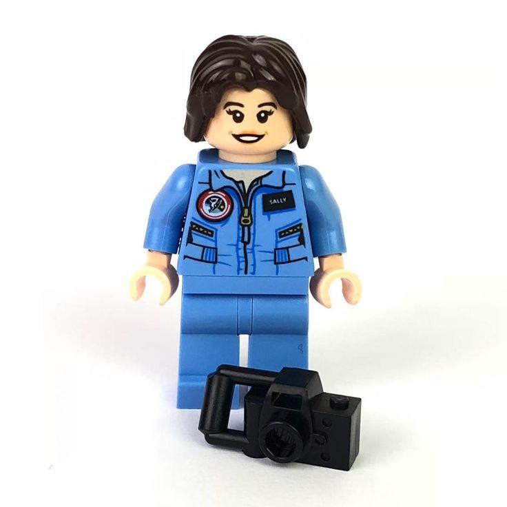 LEGO® Ideas Women of NASA 21312 Minifigur – Sally Ride idea037   Spielzeug, Baukästen & Konstruktion, LEGO   eBay!