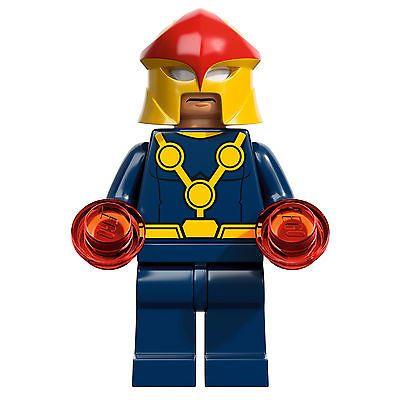 Lego 76005 Marvel Super Heroes Spider Man Nova Minifig Minifigure 5702014972704 …