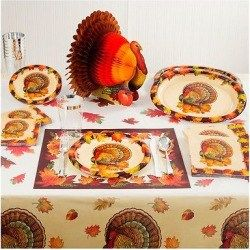 Autumn Bounty Thanksgiving Dinner Kit, Multi-Colored