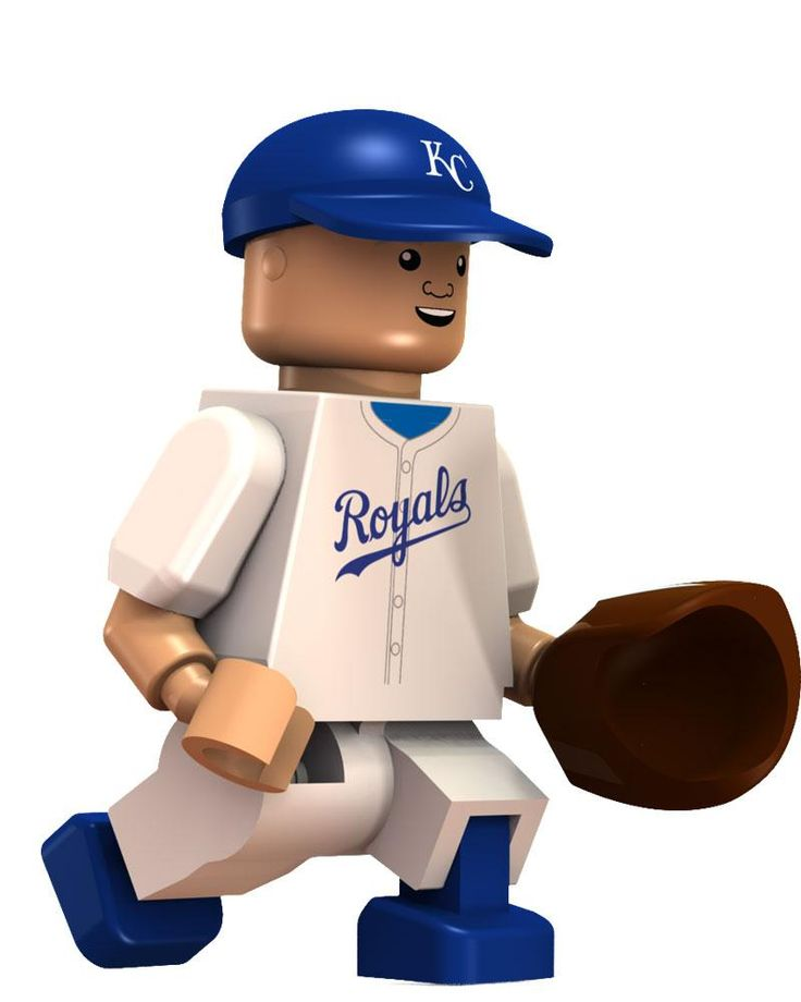 Kansas City Royals George Brett Hall of Fame Limited Edition OYO Minifigure