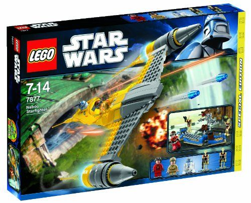 Lego 7877 Star Wars Naboo Starfighter