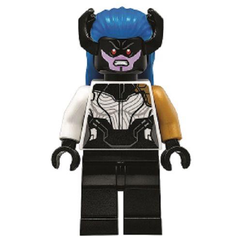 LEGO Proxima Midnight Minifigure sh500 Super Heroe Avengers Infinity War 76104