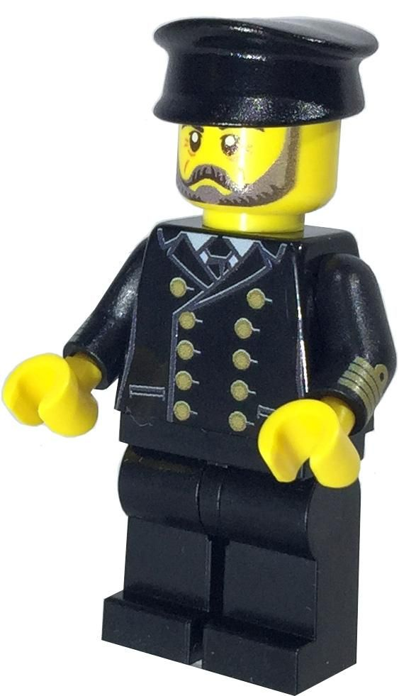 Exclusive Captain I.C. Berg Custom LEGO® Minifigure LIMITED EDITION