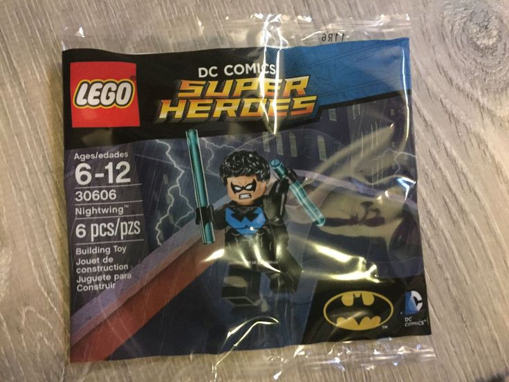 Nightwing Custom Minifigure DC Comics Minifigures LEGO Compatible Teen Titans