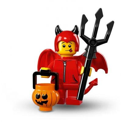 LEGO Minifigures – Cute Little Devil // forgot which series he was in, but you could look him up on amazon