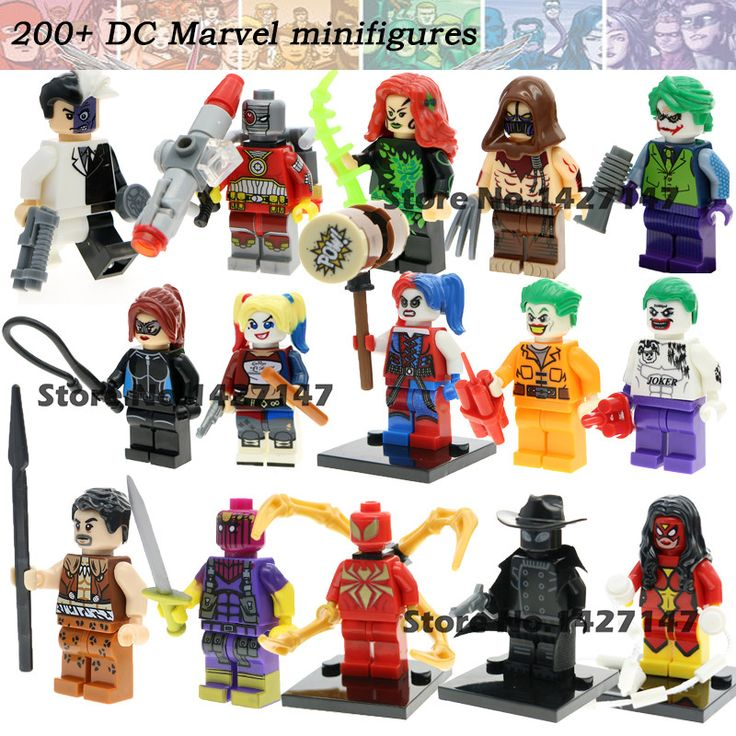 Single Sale DC Marvel Super Hero X-MEN:Apocalypse Suicide Squad joker Harley Quinn minifigures Block self-locking model toys