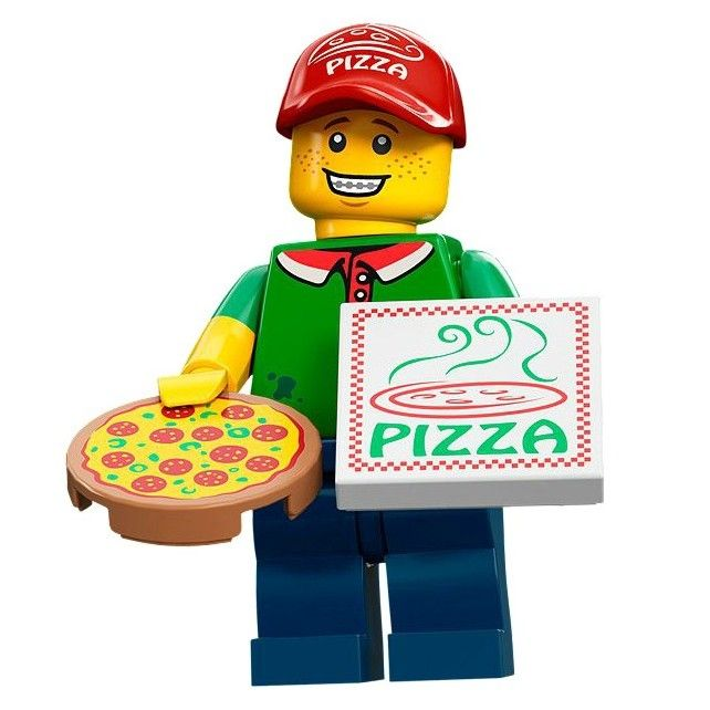 Lego Minifigures Series 12 – Pizza Delivery Man