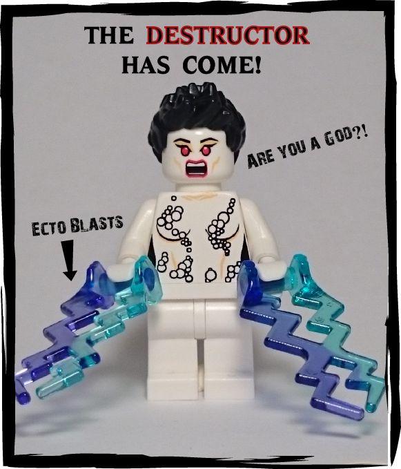 Custom LEGO Ghostbusters Minifigs – New York Terror Team (Limited Edition)