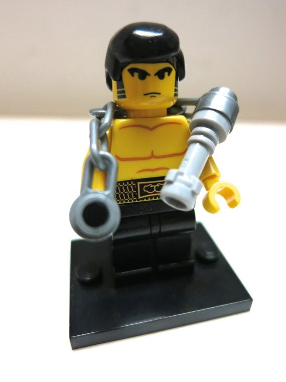 Lego limited edition BRUCE LEE Martial Arts Minifigure CUSTOM