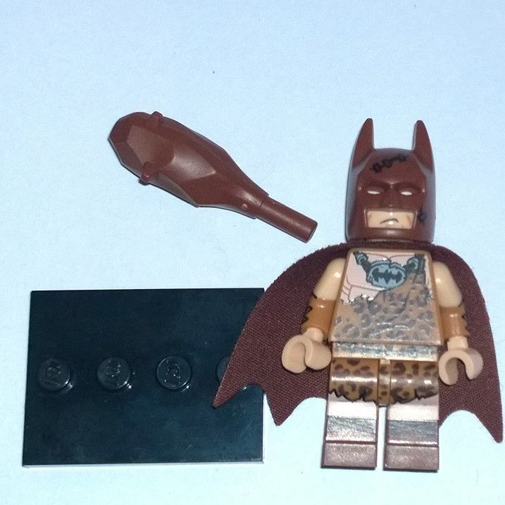 Lego Clan of the cave man Batman minifigure 217 complete