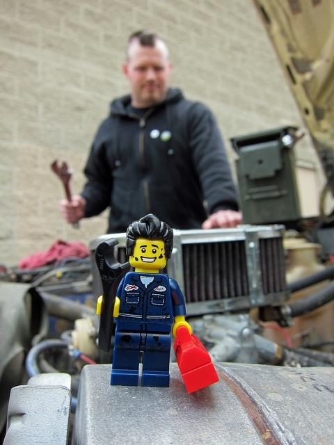 LEGO Collectible Minifigures Series 6 : Mechanic