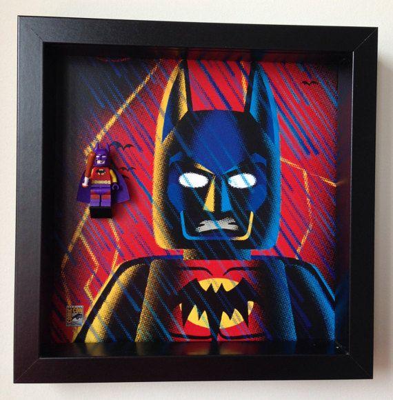 Frame for Lego® Batman of Zur-En-Arrh Minifigure – Comic Con Special edition