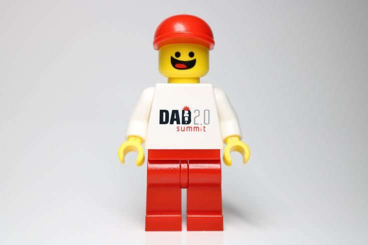 Details about Extremely Rare LEGO Dad 2.0 Summit Minifigure – Hard to Find (Limited Edition)