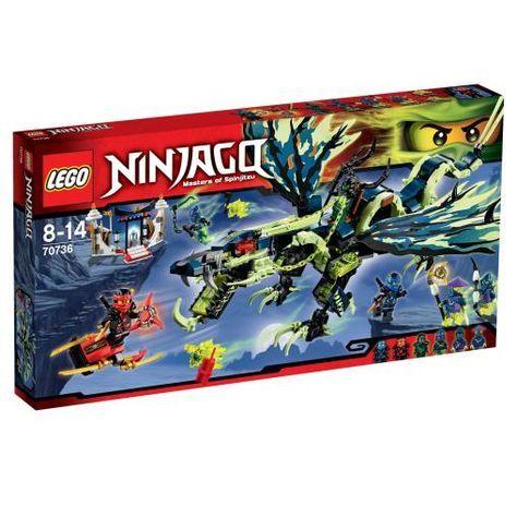LEGO Ninjago Attack of the Morro Dragon 70736