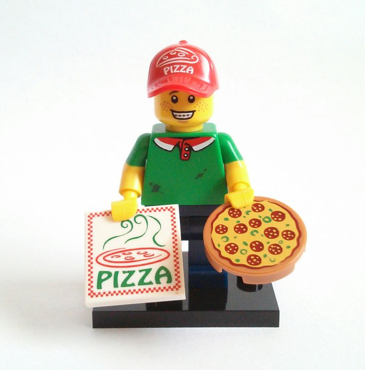 Pizza Delivery Guy Lego Minifigure Series 12