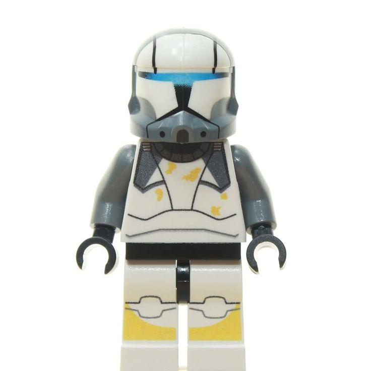 Custom Minifigur – Clone Trooper Commando Scorch
