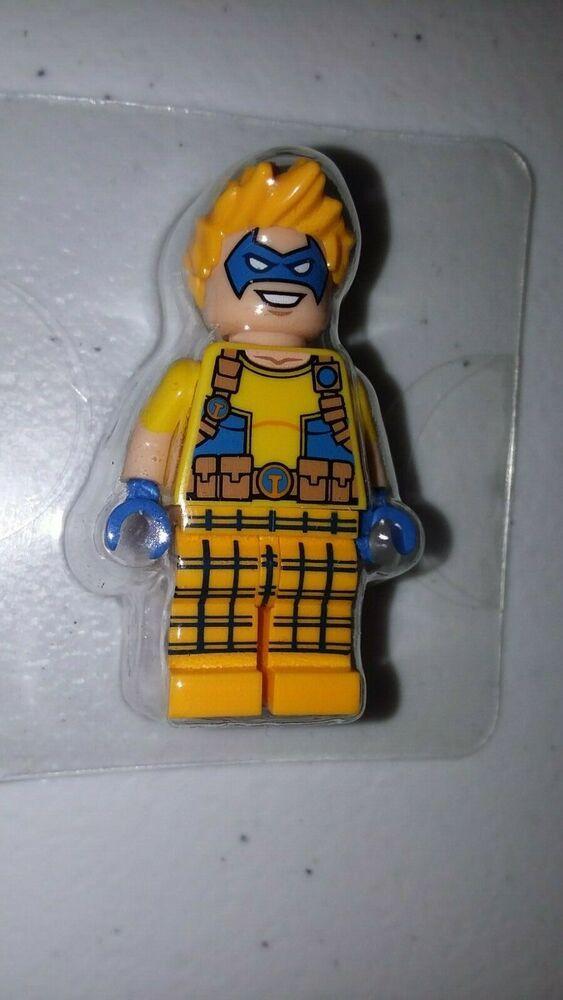 Lego Trickster MiniFigure Authentic DC Super Heroes villain Justice League