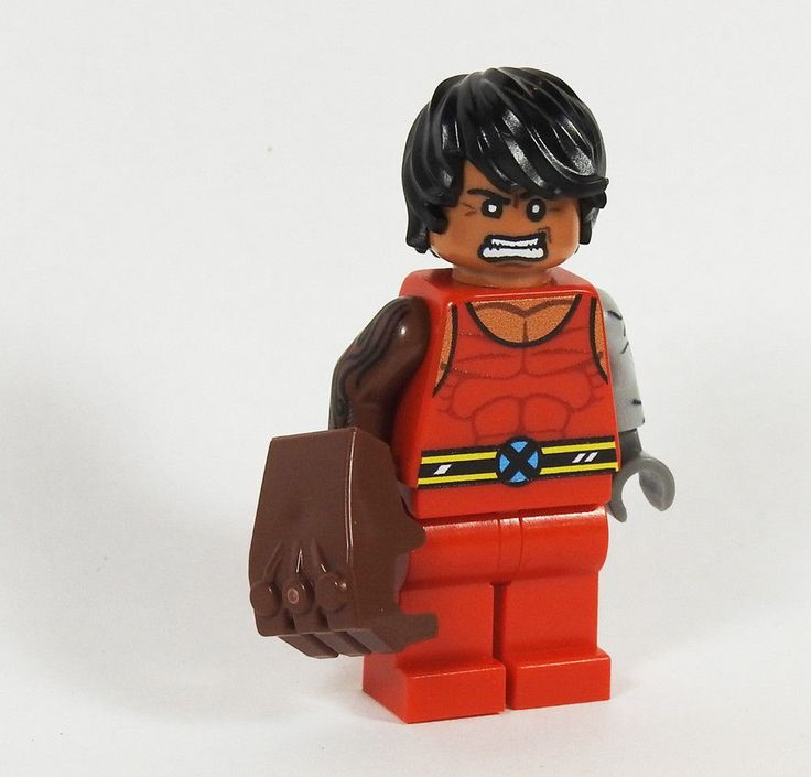 Details about Custom – Generation X Mondo – Marvel Super heroes minifigures x-men on lego brik