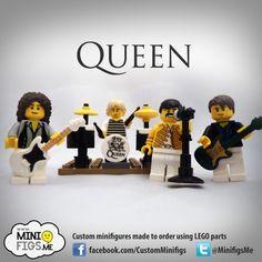 Queen Custom LEGO minifigures | SG MiniFigures