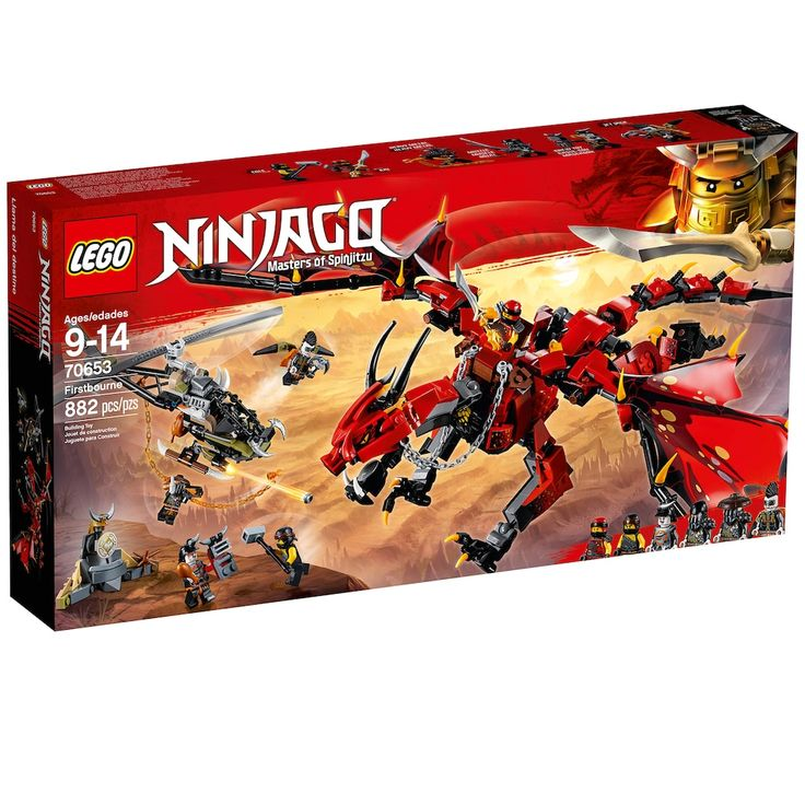 Lego Ninjago Firstbourne Set 70653
