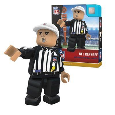 NFL Limited Edition Referee Minifigure: NFL Limited Edition Referee Minifigure