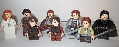 Game of Thrones House Stark Custom Minifigures