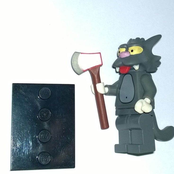Lego The Simpsons Scratchy minifigure series 1 2014