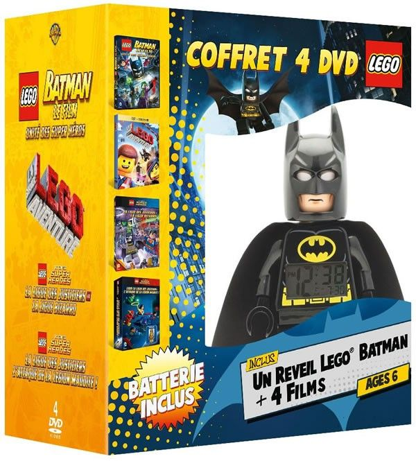 LEGO DVDs Limited Edition Bundle including Exclusive Trickster Minifigure – Read…