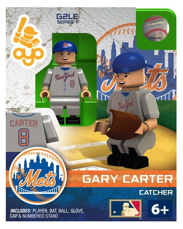 New York Mets Gary Carter Hall of Fame Limited Edition OYO Minifigure
