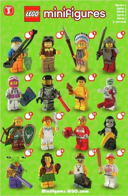 The Minifigure Collector: Lego Minifigure Series 1 -15, Lego Movie, Simpson, Dis…