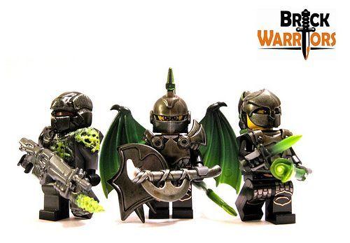 BrickWarriors Hand Painted Custom Minifigures