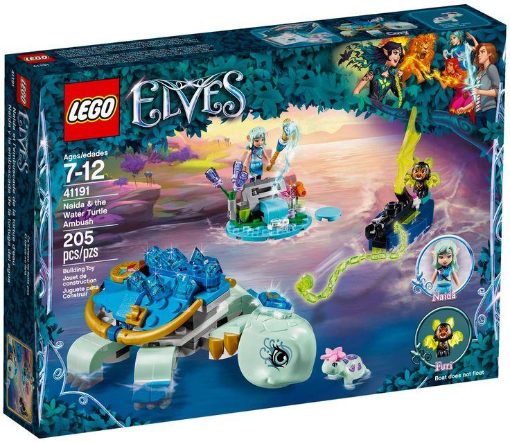 LEGO Elves 41191 Naida et le piège de la tortue d'eau