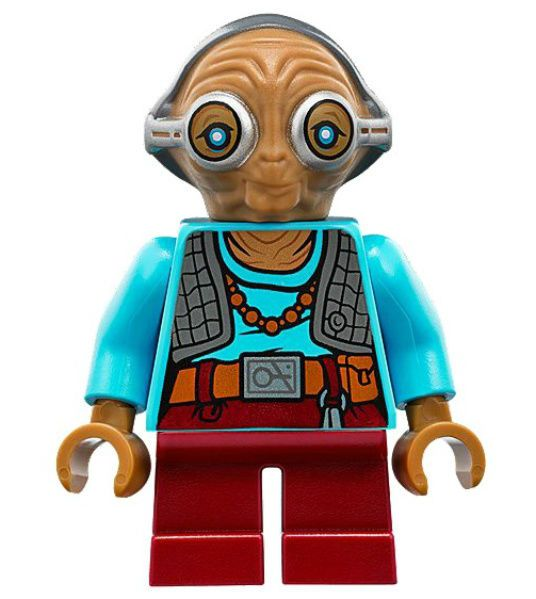 Details about NEW LEGO MAZ KANATA figure minifigure force awakens 75139 star wars toy alien