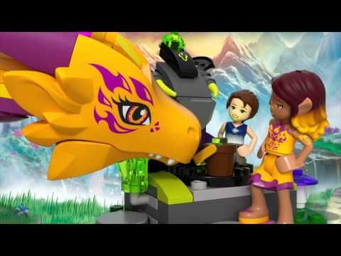 Fire Dragon's Lava Cave – LEGO Elves – 41175 – Product Animation