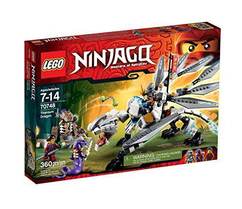 LEGO Ninjago Titanium Dragon Toy (Discontinued by manufacturer