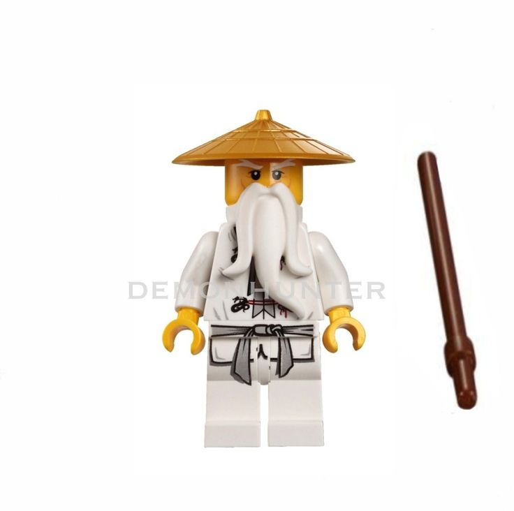 Lego Ninjago Sensei Wu njo064 from set 9450 Epic dragon battle brand NEW
