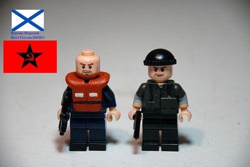 MW3 Russian Naval Soldiers Custom Minifigures