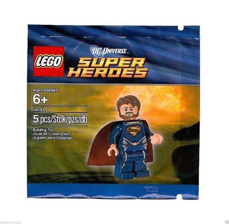 NEW LEGO DC SUPER HEROES JOR-EL MINIFIGURE 5001623 POLYBAG – SUPERMAN DAD