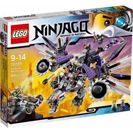 Lego Ninjago Nindroid MechDragon Play Set, Multicolor