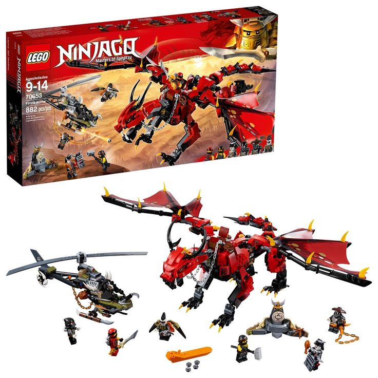 Lego Ninjago Firstbourne 70653, Multi-Colored