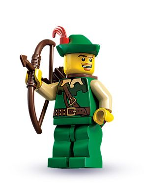 """Forestman — """"Have no fear, for I am here!""""   LEGO® minifigures   Series 1"""