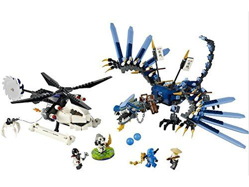 Lego Parts: Turntable 6 x 6 Kruncha – Lightning Dragon Battle (Ninjago Spinner)