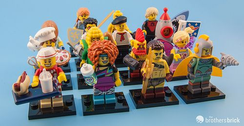 LEGO 71018 Collectible Minifigures Series 17 [Review]