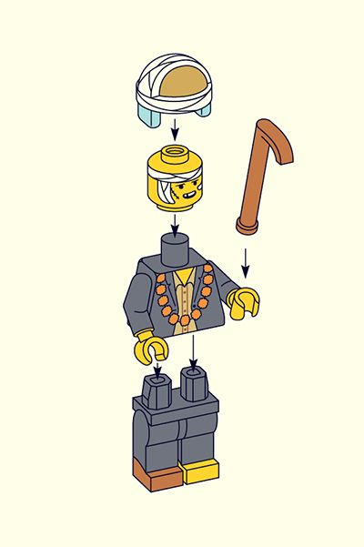 LEGO Wes Anderson on Behance