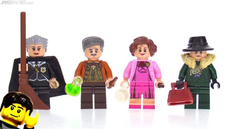 "LEGO Harry Potter ""Bricktober"" special edition Minifigures review! 5005254"