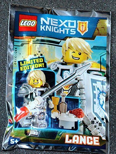 LEGO Nexo Knights Limited Edition Minifigure  Lance Foil Pack 271601 * ** AMAZON…