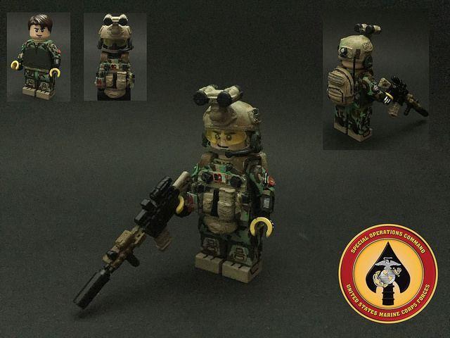 US MARSOC Marine Custom Minifigure | Custom LEGO Minifigures | SG