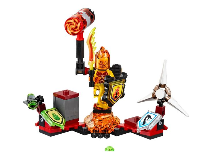 "LEGO 70339 ""Nexo Knights Ultimate Flama"" Construction Set (Multi-Colour): Amazon…"