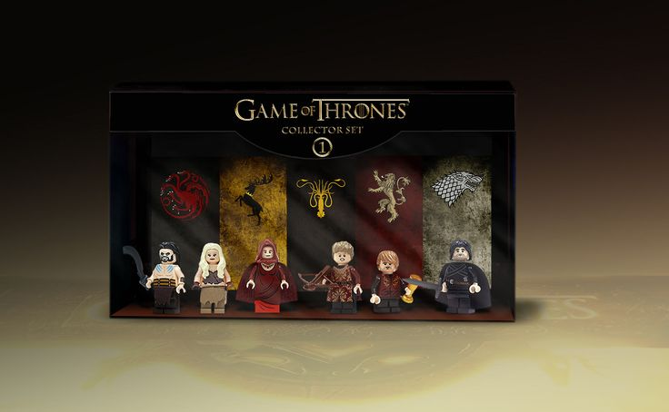 Game Of Thrones minifigures CG box